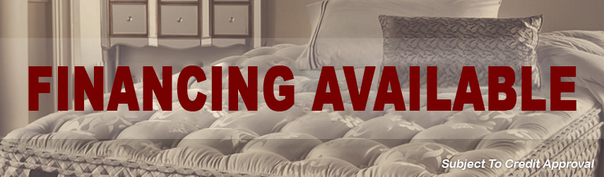 Mattress King – Homepage Slider Financing Available