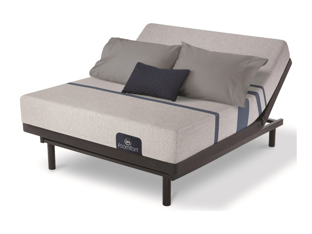 Serta Motion Essentials Adjustable Base Bed by Mattress King
