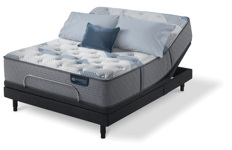 Serta Icomfort Hybrid Blue Fusion 100 Firm Mattress King