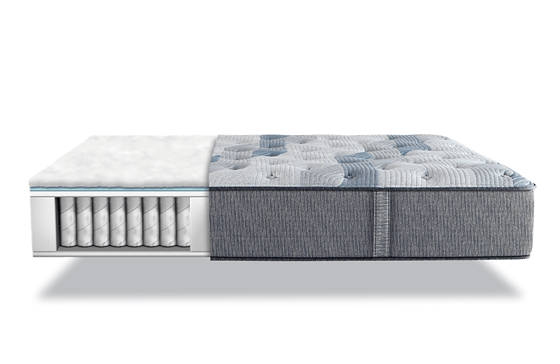 Serta Icomfort Blue Fusion 300 Plush Pillowtop Mattress King